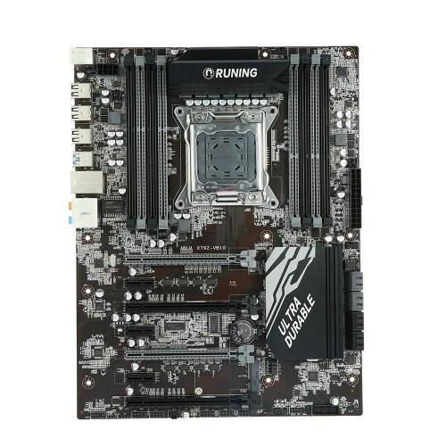 Runing X79Z B10 carte mère ATX carte mère SATA 3.0 et ports USB 3.0 LGA2011 / I7 série 8 emplacements DIMM mémoire DDR3 jusqu'à 128 Go de capacité de mémoire