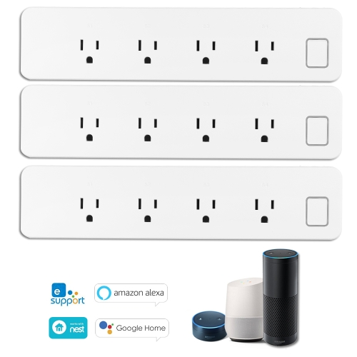 OWSOO WiFi Smart Power Strip Smart Surge ProtectorSmart Device &amp; Safety<br>OWSOO WiFi Smart Power Strip Smart Surge Protector<br>