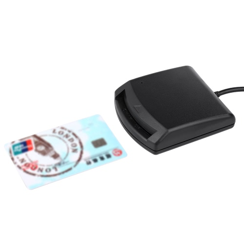 USB 2.0 Smart Card Reader Smart IC Card Reader Writer PC/SC USB - CCID EMV ISO7816 for Windows 98 / 2000 / XP/ Vista32 / Vista64 /Computer &amp; Stationery<br>USB 2.0 Smart Card Reader Smart IC Card Reader Writer PC/SC USB - CCID EMV ISO7816 for Windows 98 / 2000 / XP/ Vista32 / Vista64 /<br>