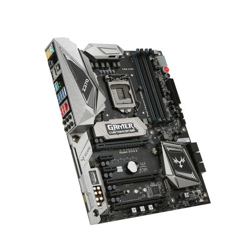 Carte mère colorée ATX Gaming Z370 Vulcan X Pro d'iGame
