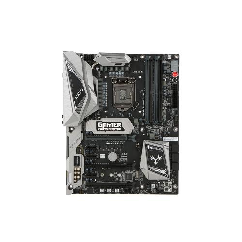 Farbenfrohes iGame Vulcan X Intel Z370 LGA 1151 DDR4 SATA 6 Gb / s Hauptplatine