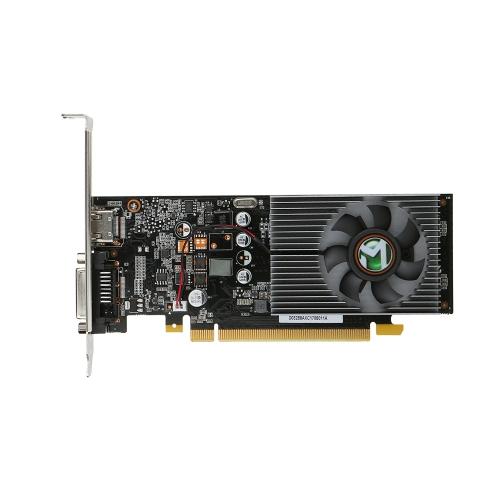 Графическая видеокарта MAXSUN GeForce GT1030 2G 6000 МГц GDDR5 64-бит с портом HDMI DVI
