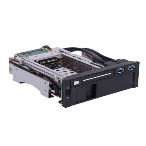 Dual Bay 3.5 + 2.5 Inch SATA III Hard Drive HDD &amp; SSD Tray Caddy Internal Mobile Rack Enclosure Docking Station with USB 3.0 PorComputer &amp; Stationery<br>Dual Bay 3.5 + 2.5 Inch SATA III Hard Drive HDD &amp; SSD Tray Caddy Internal Mobile Rack Enclosure Docking Station with USB 3.0 Por<br>