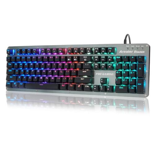 Arealer Roarer 104 Keys RGB Blue Switches Mechanical Gaming Macro KeyboardComputer &amp; Stationery<br>Arealer Roarer 104 Keys RGB Blue Switches Mechanical Gaming Macro Keyboard<br>