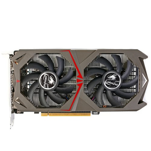 Colorful NVIDIA GeForce GTX 1050 GPU 2GB 128bit Gaming 2048M GDDR5 PCI-E X16 3.0 Video Graphics Card DVI+HD+DP Port with Two CooliComputer &amp; Stationery<br>Colorful NVIDIA GeForce GTX 1050 GPU 2GB 128bit Gaming 2048M GDDR5 PCI-E X16 3.0 Video Graphics Card DVI+HD+DP Port with Two Cooli<br>