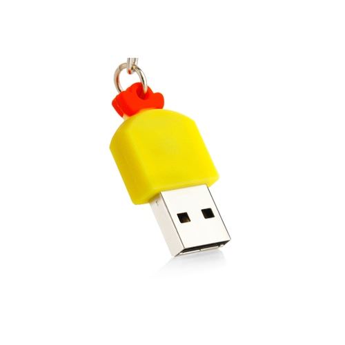 Portable Mini USB Flash Drive Cute Cartoon Style Chicken-shaped USB 2.0 Memory Stick Storage Device U DiskComputer &amp; Stationery<br>Portable Mini USB Flash Drive Cute Cartoon Style Chicken-shaped USB 2.0 Memory Stick Storage Device U Disk<br>