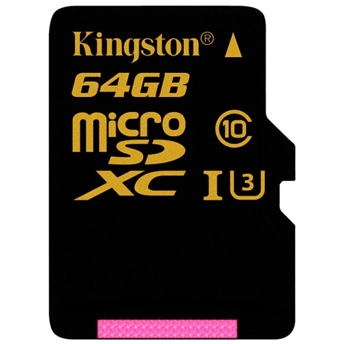 Kingston Gold Micro SD Card 64GB Memory Card UHS-I Speed Class 3 (U3) High Speed 90MB/s for Smartphone TabletComputer &amp; Stationery<br>Kingston Gold Micro SD Card 64GB Memory Card UHS-I Speed Class 3 (U3) High Speed 90MB/s for Smartphone Tablet<br>