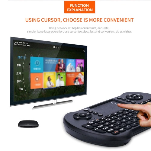2.4G Mini USB Wireless English Version Keyboard Touchpad &amp; Air Fly Mouse Remote Control for Android Windows TV Box Smart PhoneComputer &amp; Stationery<br>2.4G Mini USB Wireless English Version Keyboard Touchpad &amp; Air Fly Mouse Remote Control for Android Windows TV Box Smart Phone<br>
