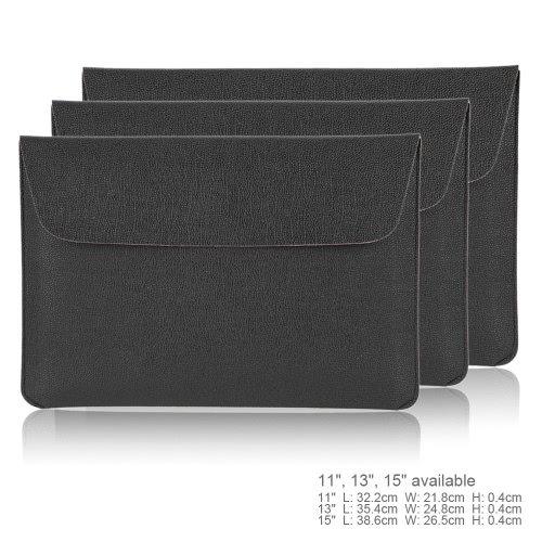 11 Portable Slim PU Leather Envelope Carrying Notebook Sleeve Bag Case Cover for MacBook/MacBook Air/Pro Laptop PC Ultrabook TablComputer &amp; Stationery<br>11 Portable Slim PU Leather Envelope Carrying Notebook Sleeve Bag Case Cover for MacBook/MacBook Air/Pro Laptop PC Ultrabook Tabl<br>