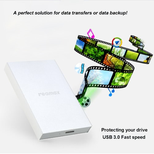 USB 3.0 Super Speed Portable 2.5 SATA HDD SSD External Hard Drive Disk Enclosure Box Case with Silicone Protective Cover CaseComputer &amp; Stationery<br>USB 3.0 Super Speed Portable 2.5 SATA HDD SSD External Hard Drive Disk Enclosure Box Case with Silicone Protective Cover Case<br>