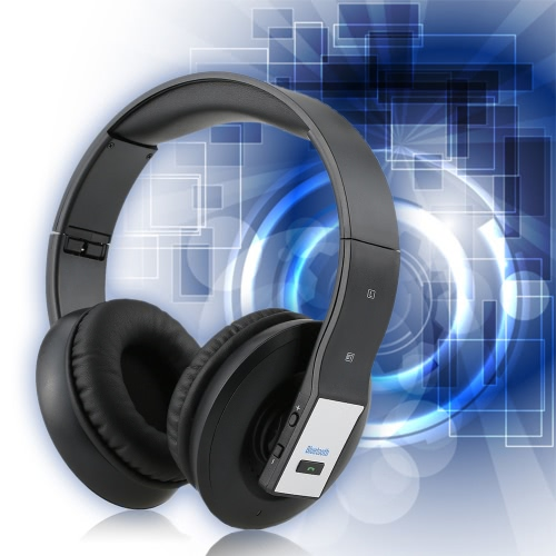Foldable Bluetooth Wireless Gaming Super Bass Music Headset Headphone Over-ear USB 3.5mm Wired for Mac Laptop PC ComputerComputer &amp; Stationery<br>Foldable Bluetooth Wireless Gaming Super Bass Music Headset Headphone Over-ear USB 3.5mm Wired for Mac Laptop PC Computer<br>