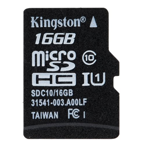 Kingston Class 10 8GB 16GB 32GB 64GB MicroSD TF Flash Memory Card 48MB/s Maximal Speed with Card AdapterComputer &amp; Stationery<br>Kingston Class 10 8GB 16GB 32GB 64GB MicroSD TF Flash Memory Card 48MB/s Maximal Speed with Card Adapter<br>