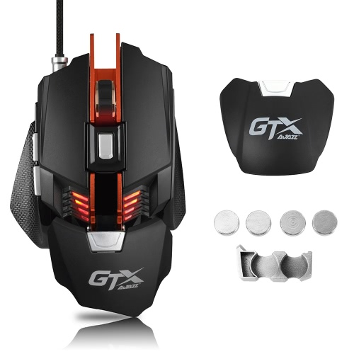 A-JAZZ GTX E-sport Gaming Mouse 4000DPI USB Wired Mechanical MouseComputer &amp; Stationery<br>A-JAZZ GTX E-sport Gaming Mouse 4000DPI USB Wired Mechanical Mouse<br>
