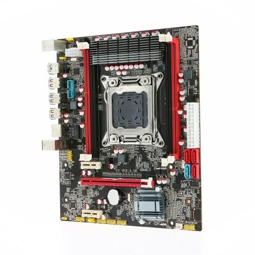 Runing E5 3.5B Carte mère MATX Carte mère SATA 3.0 et ports USB 3.0 LGA2011 / I7 Série / E5-V1 / E5-V2 4 emplacements DIMM Mémoire DDR3 Jusqu'à 64Go de capacité de mémoire