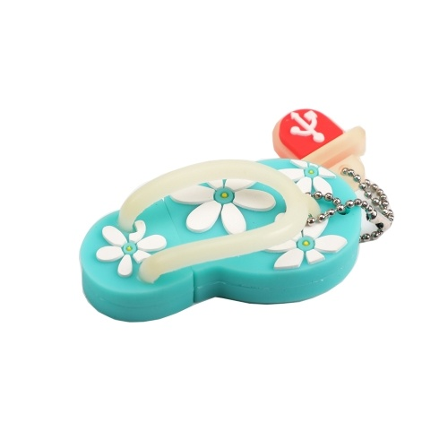 Cute Flip Flops Beach Shoes USB Flash Drive 32GB 16GB 8GB 4GB 2GB 1GB