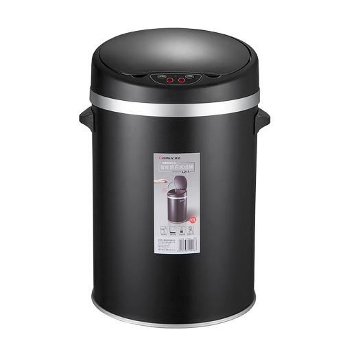Comix capteur automatique sans contact poubelle 10L en acier inoxydable poubelle corbeille à papier pour utilisation de bureau à domicile