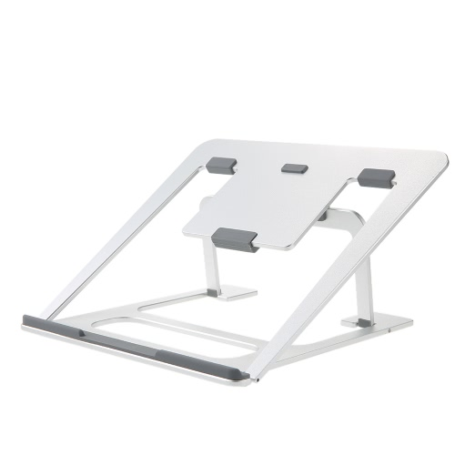 High Quality Aluminum Silicone foot Laptop Notebook Stand Tablet Phone Holder Ajustable for Tablet PC for MacBook Pro Air Book upComputer &amp; Stationery<br>High Quality Aluminum Silicone foot Laptop Notebook Stand Tablet Phone Holder Ajustable for Tablet PC for MacBook Pro Air Book up<br>