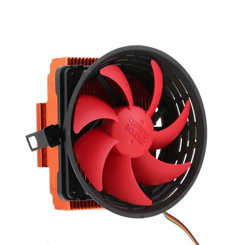 PCCOOLER 3pin Mini CPU Cooler Heatsink Fan Cooling with 80mm Fan for Desktop ComputerComputer &amp; Stationery<br>PCCOOLER 3pin Mini CPU Cooler Heatsink Fan Cooling with 80mm Fan for Desktop Computer<br>