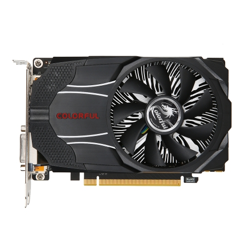 Цветная видеокарта NVIDIA GeForce GTX1060 Mini OC 6G 1531/1746 МГц 8 Гбит / с GDDR5 192-битная PCI-E 3.0 с портом DVI-D HDMI-DP