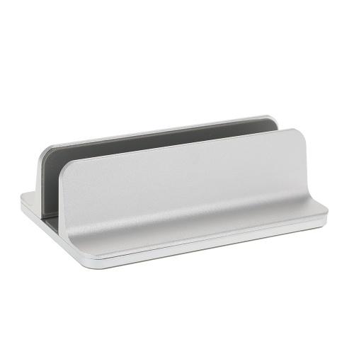 調節可能な縦型ラップトップスタンドアルミ合金ホルダーブラケットクーラー冷却パッドMacBook Pro / Air / iPad / iPhone /ノートブック/タブレット/ PC /スマートフォン用の省スペース