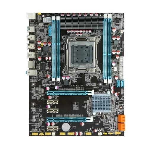 Runing E5 3.2H Carte mère ATX Carte mère SATA 3.0 et ports USB 3.0 LGA2011 / I7 Série / E5-V1 / E5-V2 4 emplacements DIMM Mémoire DDR3 Jusqu'à 64 Go de capacité de mémoire