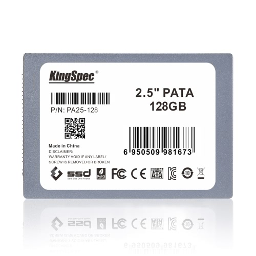 KingSpec PATA(IDE) 2.5 128GB MLC Digital SSD Solid State Drive for PCComputer &amp; Stationery<br>KingSpec PATA(IDE) 2.5 128GB MLC Digital SSD Solid State Drive for PC<br>