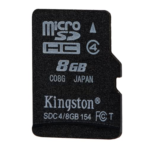 Kingston Class 4 8G 16GB MicroSDHC TF Flash Memory Card 4MB/s with AdapterComputer &amp; Stationery<br>Kingston Class 4 8G 16GB MicroSDHC TF Flash Memory Card 4MB/s with Adapter<br>