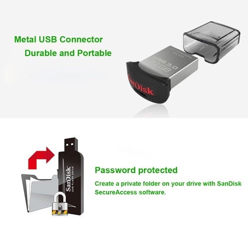 SanDisk USB 3.0 16GB Super Mini Ultra Fit Flash Drive CZ43 High Speed USB Flash Pen Thumb Drive External Storage Memory Stick Low-Computer &amp; Stationery<br>SanDisk USB 3.0 16GB Super Mini Ultra Fit Flash Drive CZ43 High Speed USB Flash Pen Thumb Drive External Storage Memory Stick Low-<br>