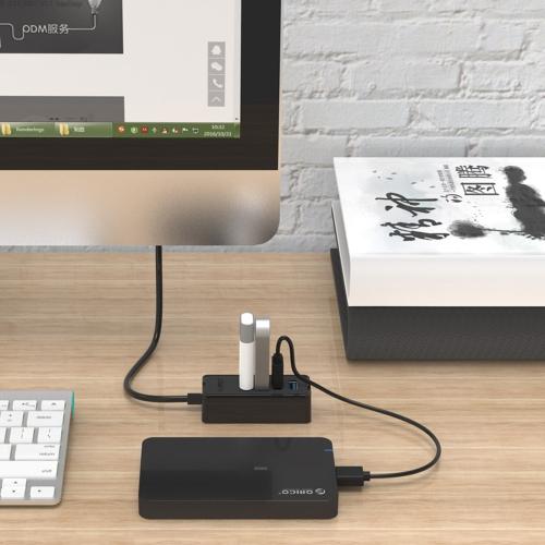 ORICO W5P-U3 Portable 4-Port USB 3.0 Desktop Hub with Micro USB Power Supply BlackComputer &amp; Stationery<br>ORICO W5P-U3 Portable 4-Port USB 3.0 Desktop Hub with Micro USB Power Supply Black<br>