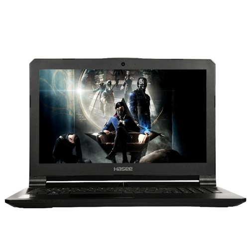 "HASEE Z7-KP7S1 Laptop Notebook PC 15.6 ""IPS 1920 * 1080 HD Display für Intel i7-7700HQ Prozessoren GTX1060 6G GDDR5 8GB DDR4 256G SSD 1T HDD"
