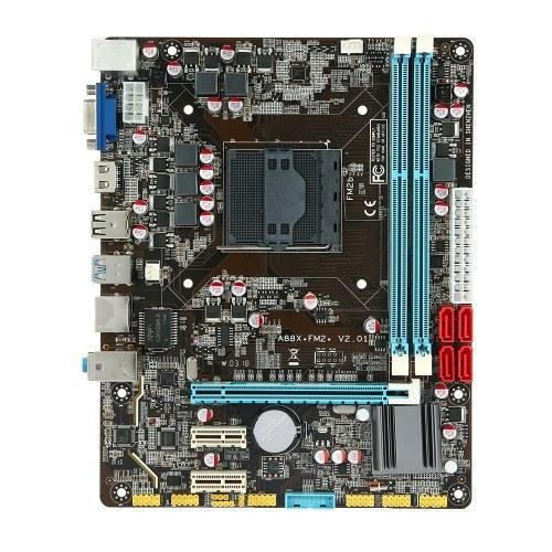 Carte mère A88 Carte mère MATX AMD / FM2 / FM2 + Processeur Ports SATA 3.0 et USB 3.0 2 emplacements DIMM Mémoire DDR3 Interface HD et interface VGA Jusqu'à 16 Go de capacité de mémoire