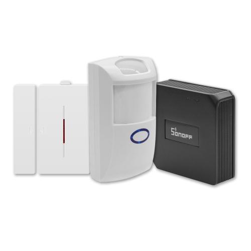 SONOFF RF Brücke ITEAD 433 MHz WIFI Wireless Switch Modul + PIR2 PIR Sensor + DW1 Tür und Fenster Alarm Sensor