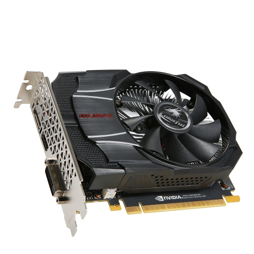 Colorful NVIDIA GeForce GTX1050 Mini OC 2G Graphics Card 1354/1455MHz 7Gbps GDDR5 128bit PCI-E 3.0 with HDMI DP DVI-D PortComputer &amp; Stationery<br>Colorful NVIDIA GeForce GTX1050 Mini OC 2G Graphics Card 1354/1455MHz 7Gbps GDDR5 128bit PCI-E 3.0 with HDMI DP DVI-D Port<br>