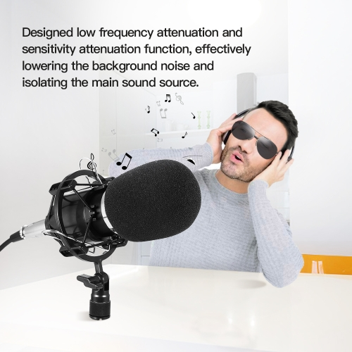 Professional Studio Broadcasting Recording Condenser MicrophoneComputer &amp; Stationery<br>Professional Studio Broadcasting Recording Condenser Microphone<br>
