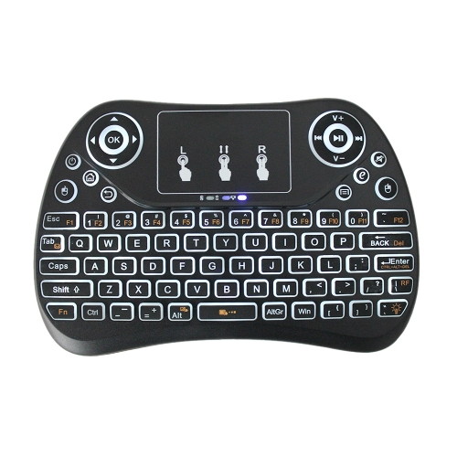 T2 Portable 2.4G Mini Keyboard Touchpad with BacklitComputer &amp; Stationery<br>T2 Portable 2.4G Mini Keyboard Touchpad with Backlit<br>