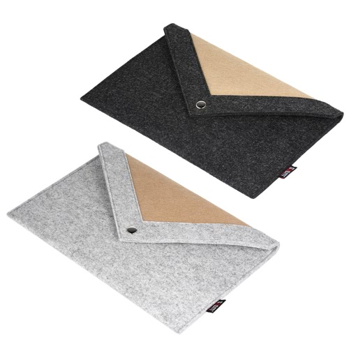 BUBM Laptop Bag for 15.4 Inches Macbook Pro Notebook Carrying Case Wool Felt Computer Cover BlackComputer &amp; Stationery<br>BUBM Laptop Bag for 15.4 Inches Macbook Pro Notebook Carrying Case Wool Felt Computer Cover Black<br>