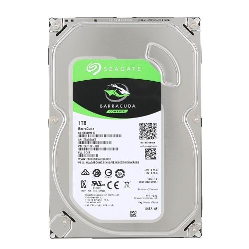 64 MB de caché de 3,5 pulgadas ST1000DM010 Seagate de 1 TB de disco duro interna de escritorio de disco duro 7200 RPM SATA de 6 Gb / s
