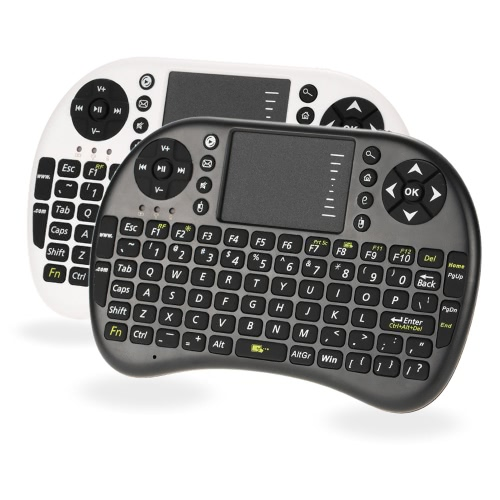 2.4G Mini USB Wireless English Version Keyboard Touchpad &amp; Air Mouse Fly Mouse Backlit Backlight 800mAh Battery Remote Control forComputer &amp; Stationery<br>2.4G Mini USB Wireless English Version Keyboard Touchpad &amp; Air Mouse Fly Mouse Backlit Backlight 800mAh Battery Remote Control for<br>