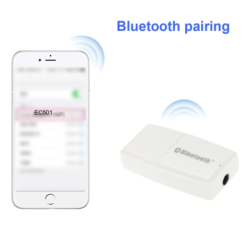 Wireless Bluetooth V4.1+EDR A2DP FM Transmitter 3.5mm USB Handsfree Car AUX Audio Stereo Music Receiver AdapterComputer &amp; Stationery<br>Wireless Bluetooth V4.1+EDR A2DP FM Transmitter 3.5mm USB Handsfree Car AUX Audio Stereo Music Receiver Adapter<br>