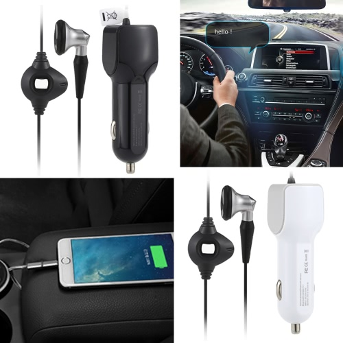 Wireless Bluetooth Music Earphone Earbud Wired USB Car Cigarette Lighter Socket Charger Power Adapter for iPhone 6S PLUS SmartphonComputer &amp; Stationery<br>Wireless Bluetooth Music Earphone Earbud Wired USB Car Cigarette Lighter Socket Charger Power Adapter for iPhone 6S PLUS Smartphon<br>