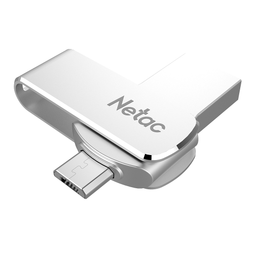 Netac U380 USB3.0 Dual Interface For Android Phone and PC High Speed Mini Flash Drive Memory Stick
