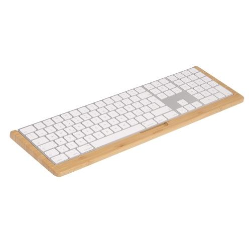 SAMDI SD-006Wa-3バンブーキーボードスタンド(アップルIMac用)