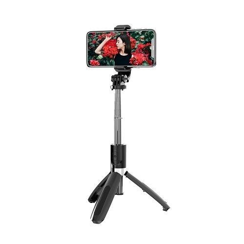 L02 Selfie Stick Drahtloses Bluetooth 4.0 Selfie Stick Faltbare Stativ-Einbeinstative für Gopro SmartPhones-Kamera