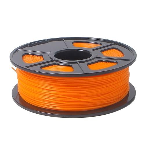 3D-принтер накаливания 1 кг 2,2 фунтов 3 мм ABS пластика для MakerBot RepRap Мендель оранжевый