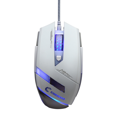 COMANRO 2000DPI Adjustable 4D USB Wired Professional Optical Gaming Mouse LED Backlight for PC Laptop DesktopComputer &amp; Stationery<br>COMANRO 2000DPI Adjustable 4D USB Wired Professional Optical Gaming Mouse LED Backlight for PC Laptop Desktop<br>