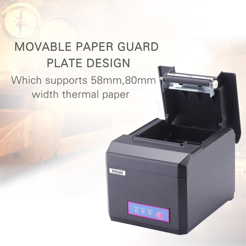 Hoin High-speed 80mm &amp; 58mm POS Dot Receipt Paper Barcode Thermal Printer USB+Bluetooth 3.0 &amp; 4.0 300mm/s for Supermarket Store BaComputer &amp; Stationery<br>Hoin High-speed 80mm &amp; 58mm POS Dot Receipt Paper Barcode Thermal Printer USB+Bluetooth 3.0 &amp; 4.0 300mm/s for Supermarket Store Ba<br>