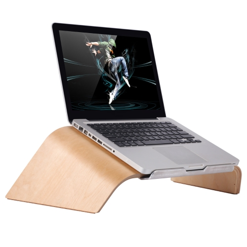 SAMDI Universal Laptop Wooden Stand Holder Bracket Dock Gradient ObliqueComputer &amp; Stationery<br>SAMDI Universal Laptop Wooden Stand Holder Bracket Dock Gradient Oblique<br>