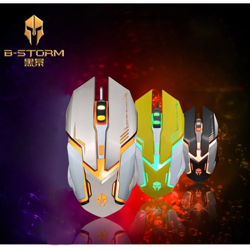 B-STORM M580 6D USB Wired Gaming Mouse/Mice Optical with Backlit 2400 DPI Adjustable for PC Laptop DesktopComputer &amp; Stationery<br>B-STORM M580 6D USB Wired Gaming Mouse/Mice Optical with Backlit 2400 DPI Adjustable for PC Laptop Desktop<br>