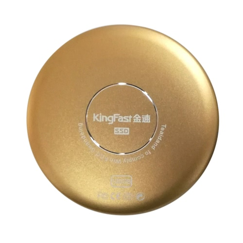 KingFast P600 120GB Portable SSD Super Speed USB 3.0 Mobile External Solid State Drive Mini Fashion Circular Disk