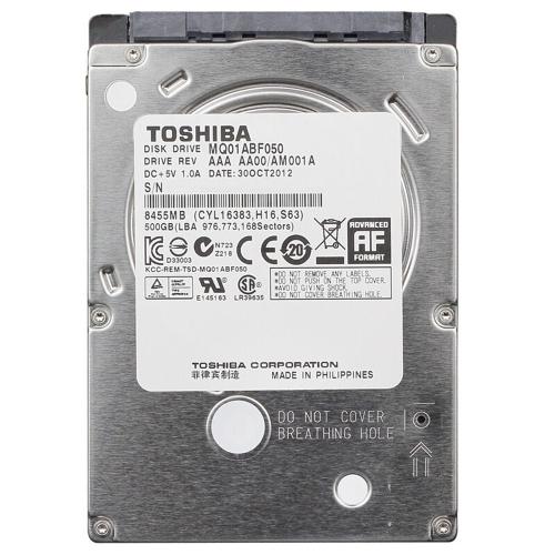 TOSHIBA 1TB de disco duro interna del ordenador portátil de disco duro de 9,5 mm a 5400 rpm de 2.5 pulgadas SATA de 6 Gb / s 8 MB de caché MQ01ABD100M